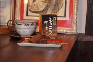 カップの奈良絵がとてもいいのです。