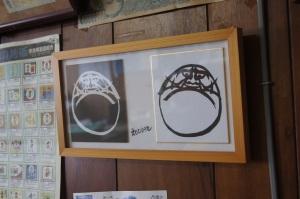 事務所に飾っている江本幸雄先生の作品